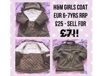 H&M Girls Coat