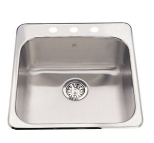 """brand new 20"""" Kindred stainless steel sink"""