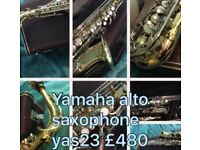 Yamaha saxophone yas 23 awesome player