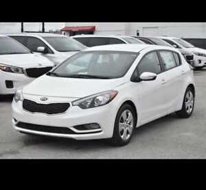 2016 Kia Forte5 Sedan - Pearl White - Manual