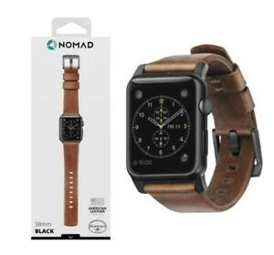 Nomad Modern strap 42mm Rustic Leather, Brand new sealed at lowest price ever