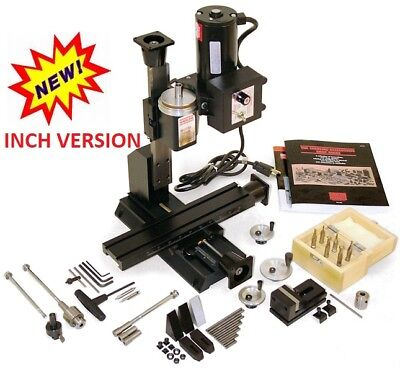 5400a-cnc Inch Cnc Ready Deluxe Mill Package A New See 5410a-cnc For Metric