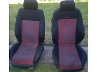 VW GOLF Mk4 GTI RECARO FRONT AND REAR SEATS