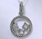 Yurman Quatrefoil Necklace