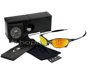 Oakley 04-151 X METAL JULIET Plasma Fire Mens Rare Collectors Set Sunglasses New
