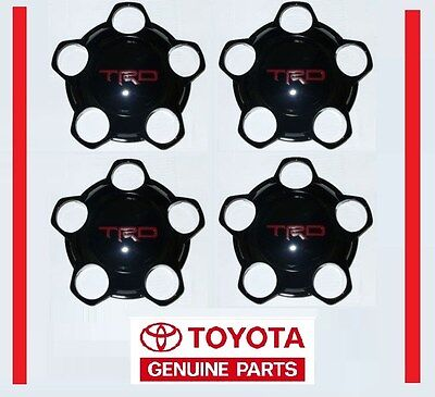 2014 2015 2016 TOYOTA TUNDRA TRD PRO CENTER CAP SET