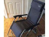 Reclining sun lounger chair