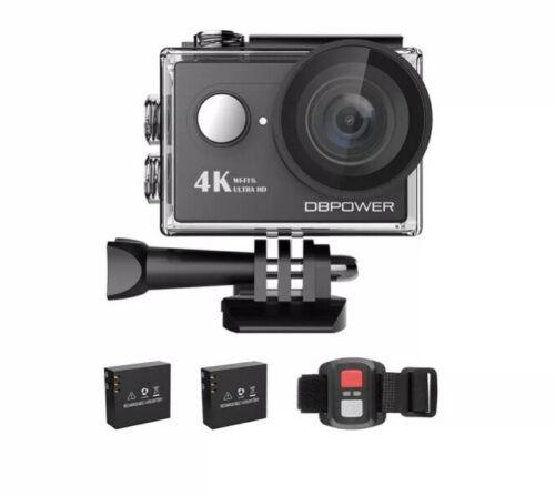 DBPOWER Action Cam 4K Ultra HD 20MP WiFi Touch Screen Sport UNTERWASSERKAMERA