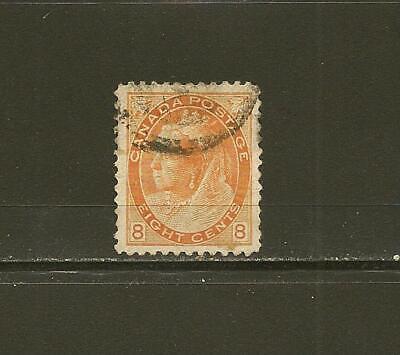 Canada SC# 82 Queen Victoria Stamp Fine Used