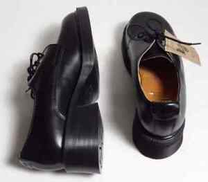 DR. MARTENS 4 EYE GIBSON SHOES BLACK Burgundy Leather Boots London Ontario image 3