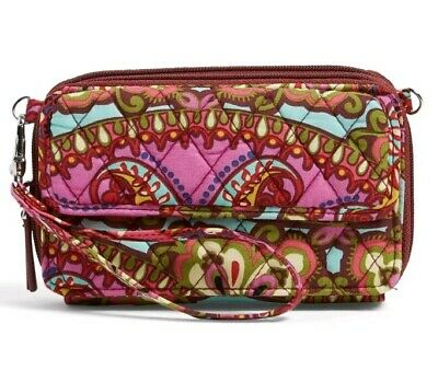 NWT Vera Bradley All in One Crossbody Wristlet Wallet in Resort Medallion $68
