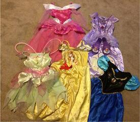 Girls Princess Fancy Dress (Bundle or Separates) 3-4yrs