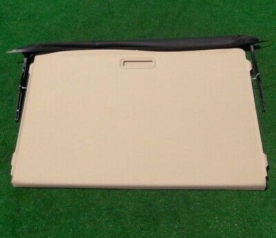 Factory Cadillac DTS Beige Sunroof Sunshade Screen Visor 25856878 Genuine GM OEM