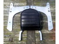Genuine Harley Davidson XL1200 Sportster Backrest Sissy Bar with Fitting Attachments/Brackets