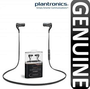 GENUINE PLANTRONICS BACKBEAT GO WIRELESS STEREO BLUETOOTH EARPHONES HEADPHONES