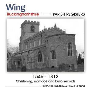 Buckinghamshire-Wing-Parish-Registers-1546-1812-Parish-Records