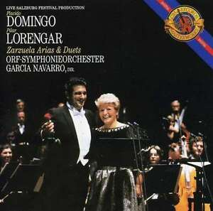 Placido-DOMINGO-Pilar-LORENGAR-ZARZUELAS-ARIAS-amp-DUETS-ORF-NAVARRO-CD-NEW