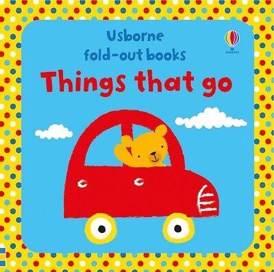 Usborne THINGS THAT GO Brand NEW Preschool Children BOARD BOOK Ebay Best