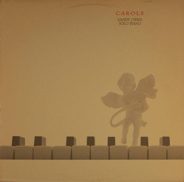 Carols - Sandy Owen - Solo Piano -  Christmas LP