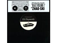 "ZHAO-SKI - D3 ELEMENTS PRESENTS BEATZ VOLUME 1. BRAND NEW SEALED 10"" EP. £10"