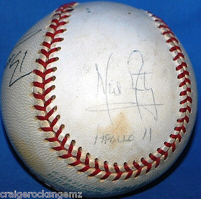 Neil Armstrong Buzz Aldrin Mike Collins Apollo 11 Crew Signed Baseball JSA