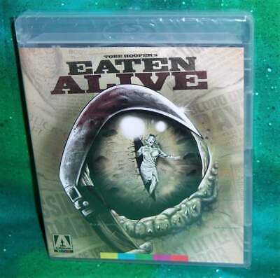 BRAND NEW ARROW VIDEO TOBE HOOPER EATEN ALIVE SE BLU RAY & DVD HORROR MOVIE 1976