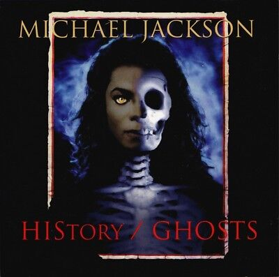 Michael Jackson ‎– HIStory / Ghosts 5 tracks CD, Maxi-Single, Limited Edition