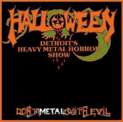 HALLOWEEN - DON'T METAL WITH EVIL  CD NEU  ()