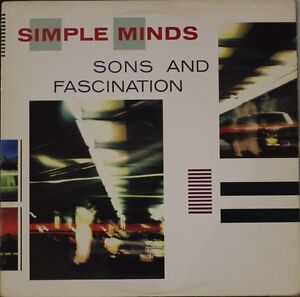 Simple Minds - Sons And Fascination Vinyl Record LP