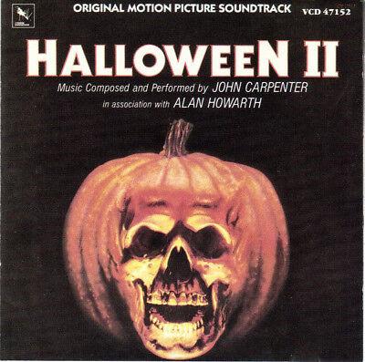 Halloween II / 1981 - John Carpenter - Varese Records - Score - Soundtrack - CD](Halloween Ii Score)