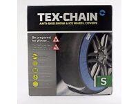 Tex-Chain snow sock/chain. Size: S