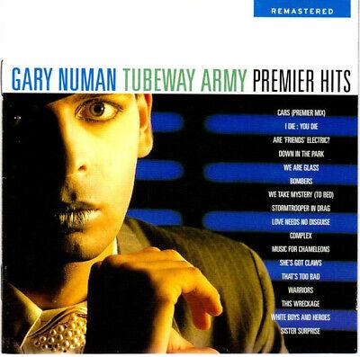 Gary Numan / Tubeway Army – Premier Hits US 18-Trk CD (Best of, Greatest,
