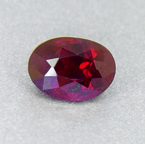 "Unheated Ruby 0.68 Ct.  ""pigeon Blood"" Will Look Amazing A Ring! (00806)"