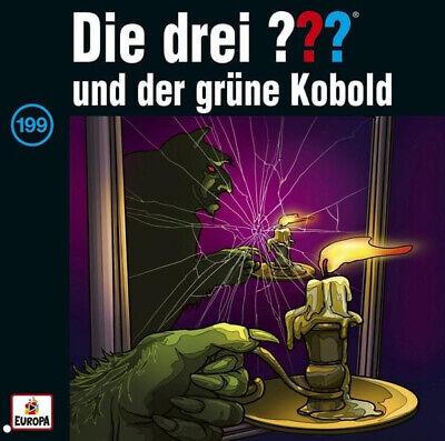 Die drei ??? Fragezeichen - Folge 199: und der grüne Kobold (CD)
