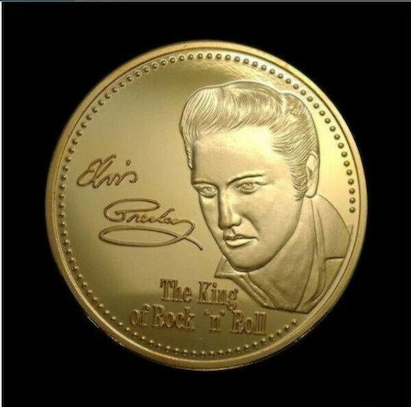 the elvis coin