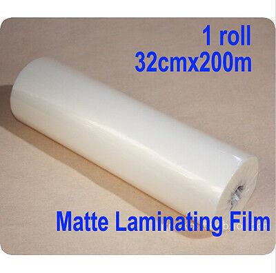 1 Roll 13x 65632cmx200m Matte Hot Laminating Film 1 Core Laminator