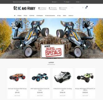 OZ RC and HOBBY - Niche Online Business Easy to Operate from Home