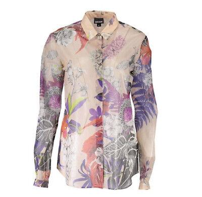 ROBERTO CAVALLI Just CAVALLi Button Print Shirt 44