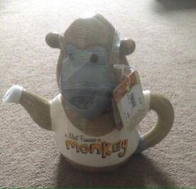 Famous Monkey Tea pot