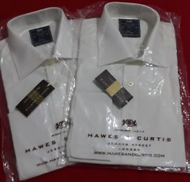 2 x NEW Hawes & Curtis Shirts