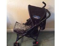BabyStart black Pram / Stroller / Buggy