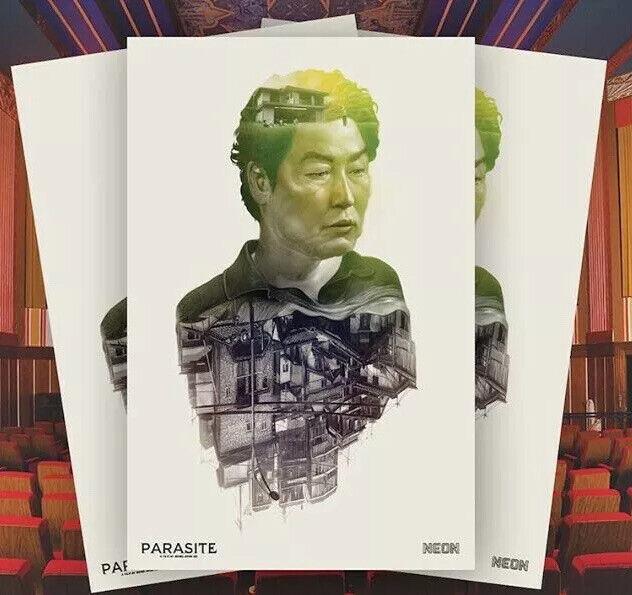 PARASITE 2019 Movie Poster Bong Joon-ho Kang-ho Song 11x17 Oscar Greg Ruth Mondo