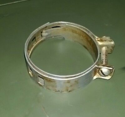 """2/"""" Industrial 4 NOS Ideal S-51-21 WWII Adjustable Military Hose Clamps 2-3//4/"""""""