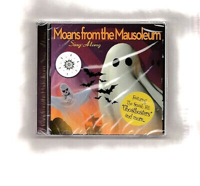 MOANS FROM THE MAUSOLEUM CD~1 HOUR OF SPOOKY HALLOWEEN PARTY SONGS NEW SEALED