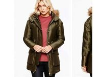 Khaki Parker coat