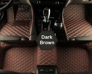 Custom made Luxury Leather floor mats