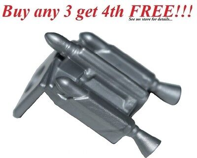 ☀️NEW Lego MINIFIG Star Wars FLAT SILVER PEARL GRAY JET PACK Jetpack nozzles (Flat Jet Nozzle)