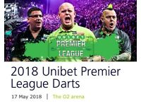 2018 Unibet Premier League Darts - London, The O2 - 17th May 2018