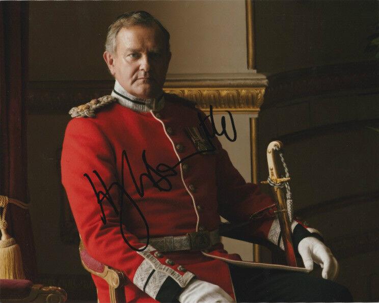 Hugh Bonneville Downton Abbey Autographed Signed 8x10 Photo COA F