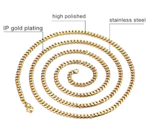 Gold Plated Chain (Stainless Steel)